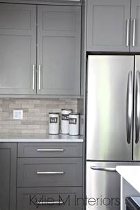 25 best ideas about gray kitchen cabinets on pinterest grey kitchen paint inspiration grey - kitchen kitchen color ideas with grey cabinets kitchen canisters jars cake pans serveware