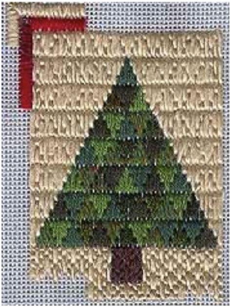 christmas tree needlepoint pattern trianglepoint christmas tree quilt ornament free pattern