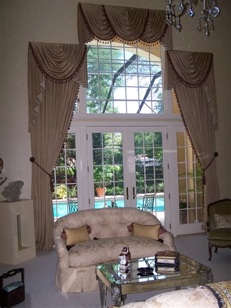 two story living room curtains two story living room traditional curtains ta by equinox interiors