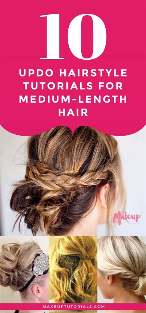 Hairstyles For Medium Hair Tutorials by 10 Hairstyle Tutorials For Your Next Gno