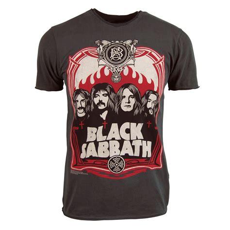 Tshirt Black Sabbath Hitam Dealdo Merch lified mens black sabbath t shirt charcoal