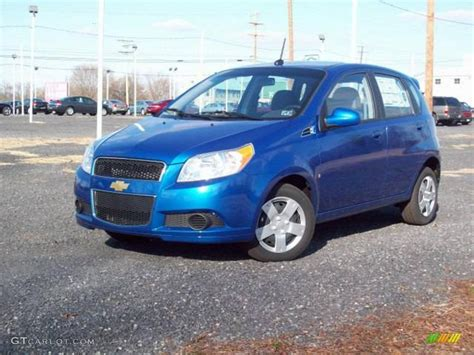 2009 bright blue chevrolet aveo aveo5 lt 7707279 gtcarlot car color galleries
