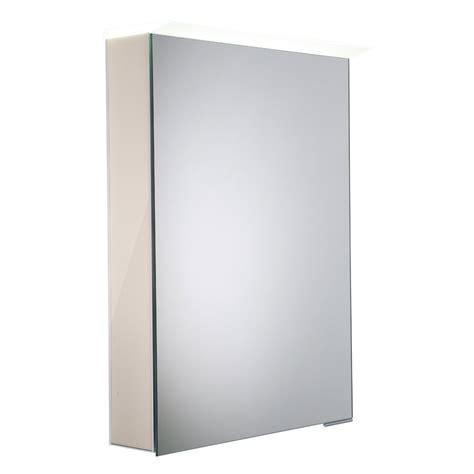 roper rhodes virtue gloss calico led mirror cabinet