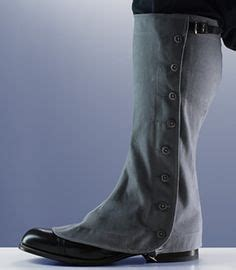 gaiters dress fitted on steunk and 18th ce
