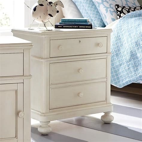 cottage style off white nightstand