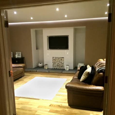 Home Decor Fabric Uk by A Modernised Inglenook Fireplace Filled With Whitewash