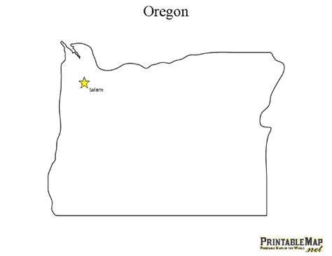 oregon state cus map pin vermont blank map on