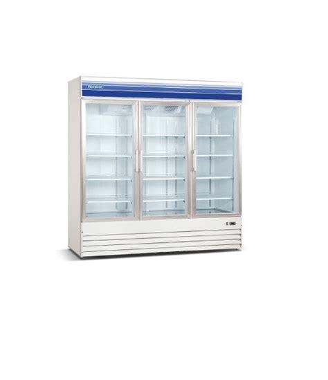 3 Glass Door Freezer 3 Door Freezers Refrigerator Display Freezers Frozen Food Freezer Glass Doors