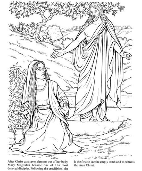 easter coloring page bible coloring pages pinterest