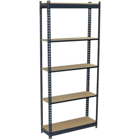 storage concepts 72 in h x 36 in w x 18 in d 5 shelf