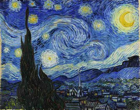 picasso paintings and their meanings starry meaning of the vincent gogh landscape