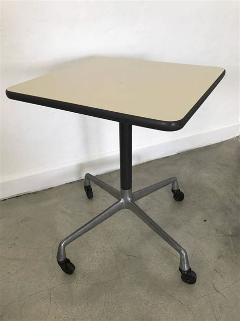 Eames Side Table Eames Aluminium Side Table For Herman Miller For Sale At 1stdibs
