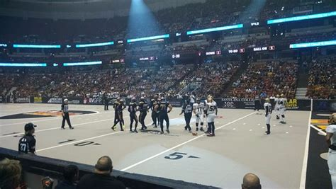 arena football honda center inside honda that s all the levels picture of