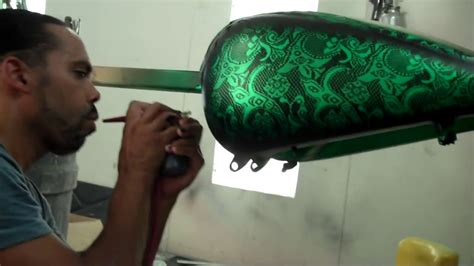 lace pattern paint jobs blacksmith motoring chief designer laying down lace
