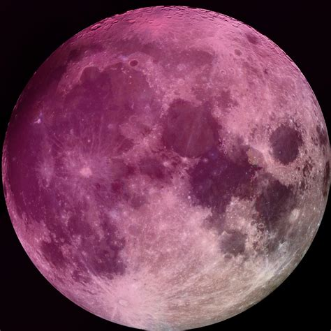 what is a pink moon the moon city of stars
