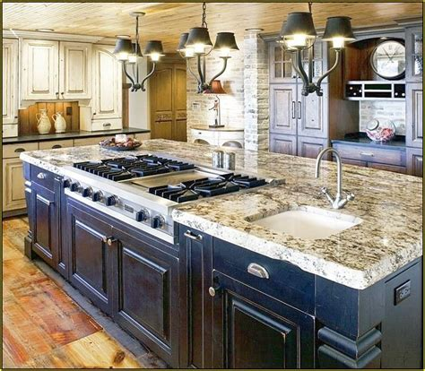 kitchen islands with cooktops kitchen island with cooktop home design photo gallery