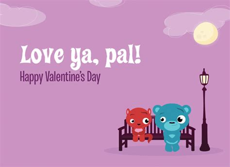 Record A Valentines Day Ringtone For Your Pals With Singtone by Myfuncards Sweet Pals Pb Send Free Holidays