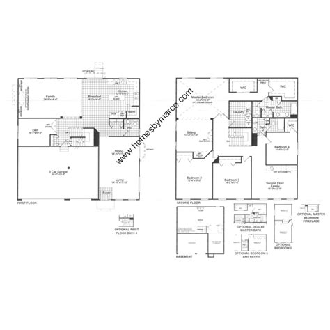 providence homes floor plans providence model in the lakewood grove subdivision in