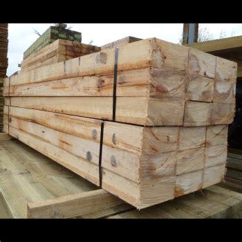 grey gum hardwood timber fencing sleepers 200 x 100mm