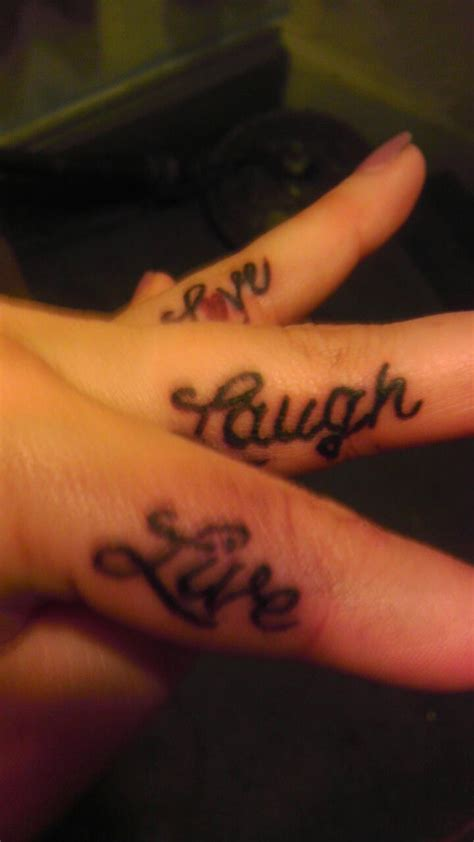 live tattoo pics for gt live laugh