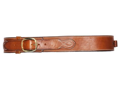 ross leather classic cartridge belt 45 cal leather