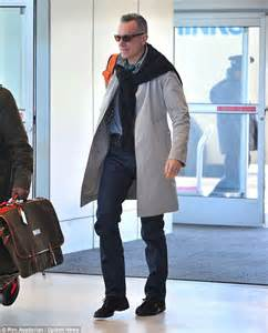Oscar winner Daniel Day lewis arrives at JFK airport