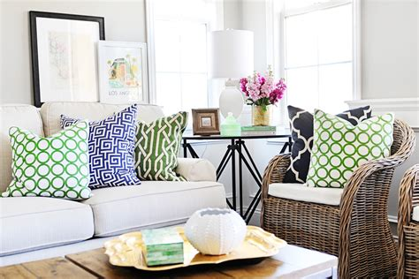 add beautiful green accessories to your design and