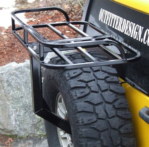 hummer  spare tire rack