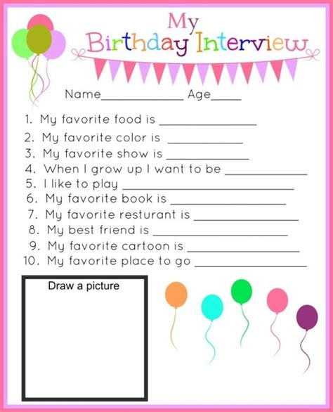 25 interview questions for a biography best 25 birthday interview ideas on pinterest kids