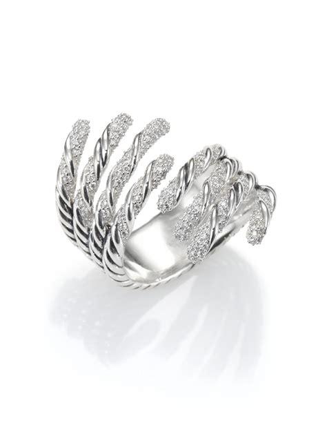 david yurman sterling silver multirow torqued ring