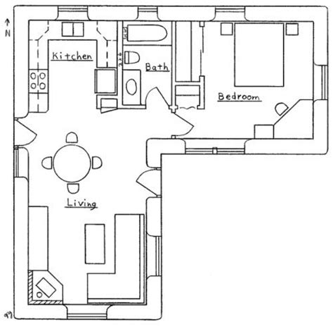 l shaped apartment floor plans okay so it s about 500 square feet but very liveable
