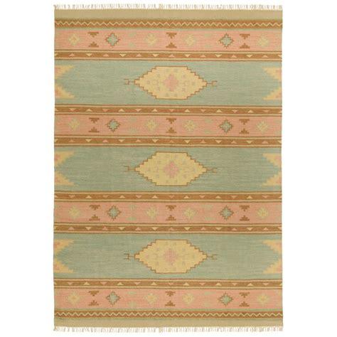 Santa Fe Rugs by Woven Santa Fe Flat Weave Rug 4x6 169057 Rugs