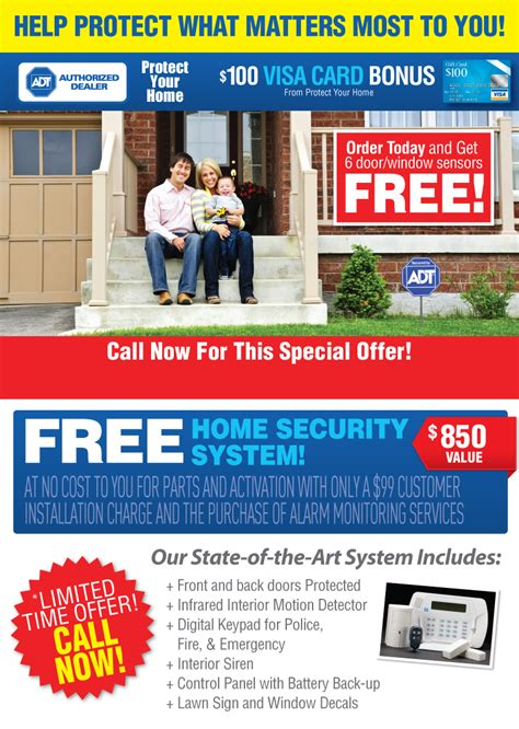choose home security special offer