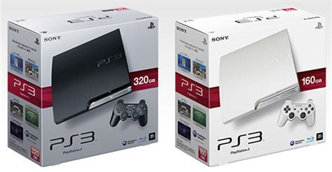 Harddisk 320gb Ps3 sony classic white 160gb ps3 slim outed black ps3 gets 320gb hdd boost slashgear