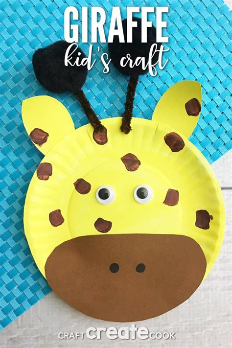 Giraffe Paper Plate Craft - 1414 best paper plate crafts images on crafts