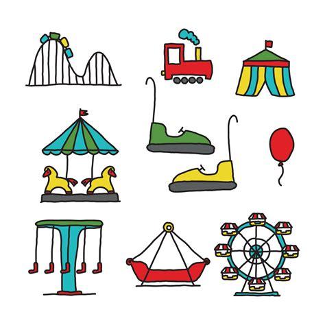 theme park vector amusement park download free vector art stock graphics