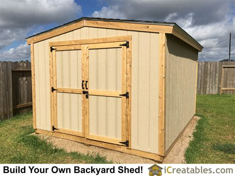 Built In Shed