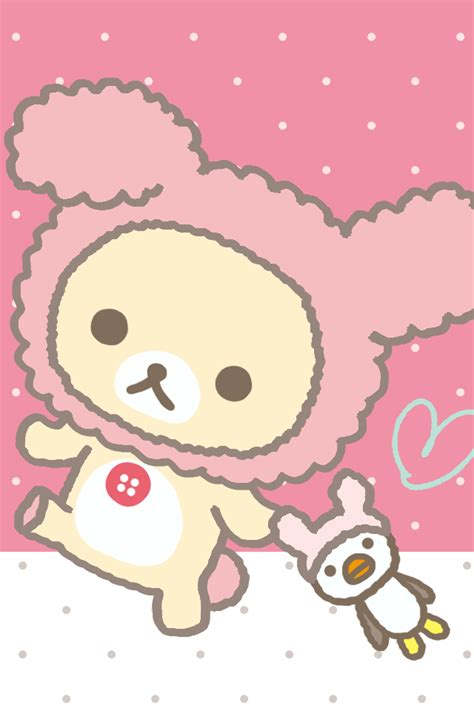 whatsapp themes tumblr rillakuma bear whatsapp theme cute bebe kitty