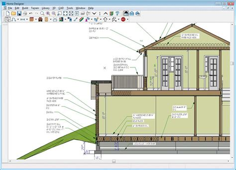 home designer pro cross section amazon com home designer pro 2012 download software
