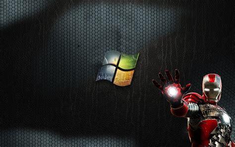 imagenes para fondo de pantalla de iron man logotipo de windows y iron man fondos de pantalla gratis