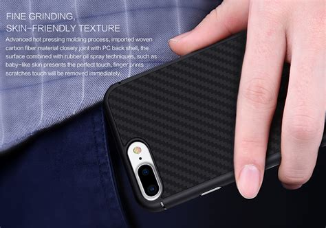 Iphone 7 Nillkin Synthetic Fiber Series Protective Hitam T1910 nillkin synthetic fiber series protective for iphone 7 8 black jakartanotebook