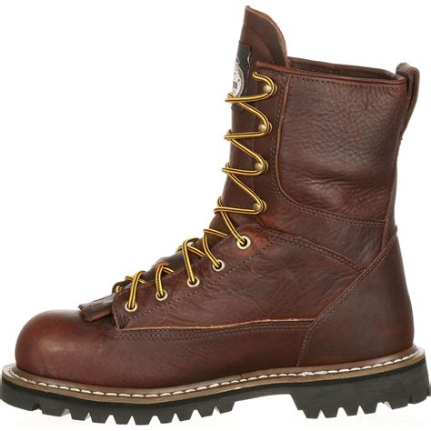 lace to toe work boots steel toe waterproof lace to toe work boot by