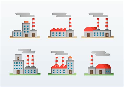 design icon factory factory corporation flat icons style download free