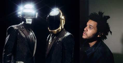 daft punk hits daft punk hit the studio with the weeknd consequence of