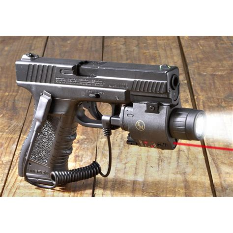 tactical light and laser fm optics tactical laser light combo 153866 laser