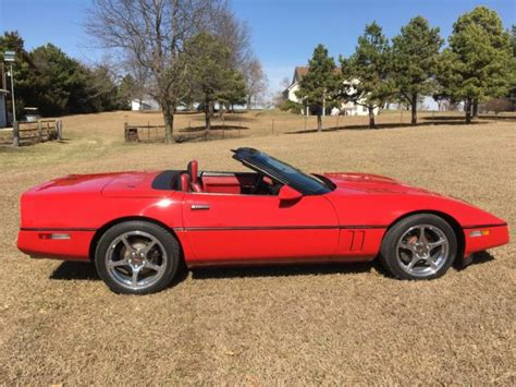 how things work cars 1988 chevrolet corvette electronic valve timing 1988 corvette convertible bright red c4 automatic for sale chevrolet corvette 1988 for sale in