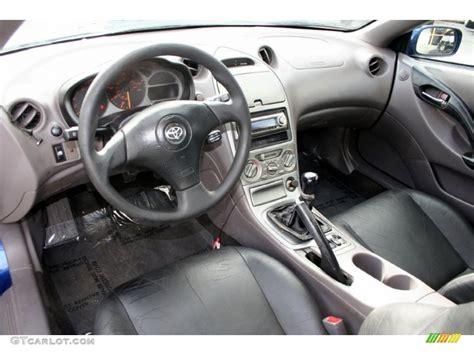 2000 Celica Gts Interior by Black Silver Interior 2000 Toyota Celica Gt Photo