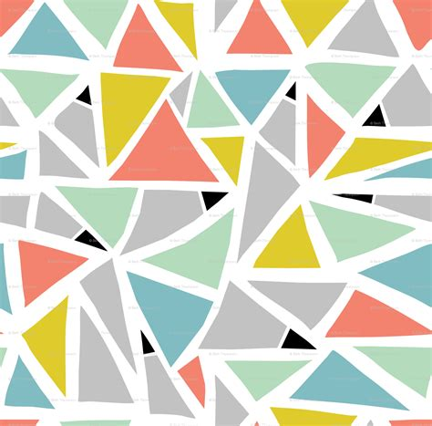 geometric triangle pattern design triangle patterns tumblr www pixshark com images
