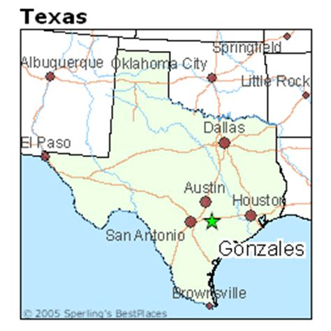gonzales texas map best places to live in gonzales texas
