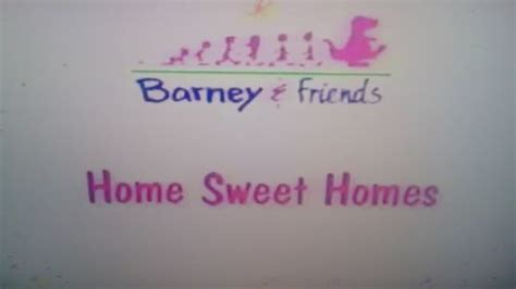 barney home sweet homes